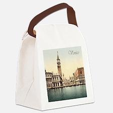 Vintage Venice Canvas Lunch Bag