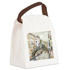 Cute Italy Canvas Lunch Bag