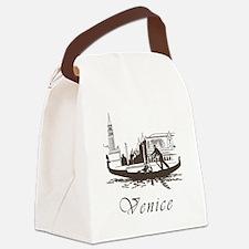 Retro Venice Canvas Lunch Bag