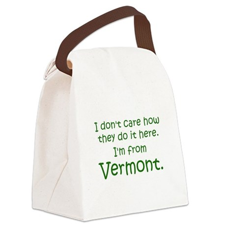 From Vermont Canvas Lunch Bag