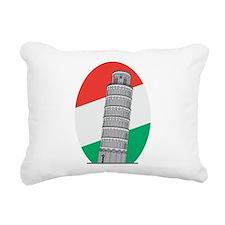 Cute Pisa Rectangular Canvas Pillow