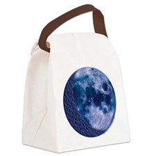 Celtic Blue Moon Canvas Lunch Bag