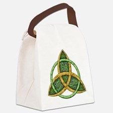 Celtic Trinity Knot Canvas Lunch Bag