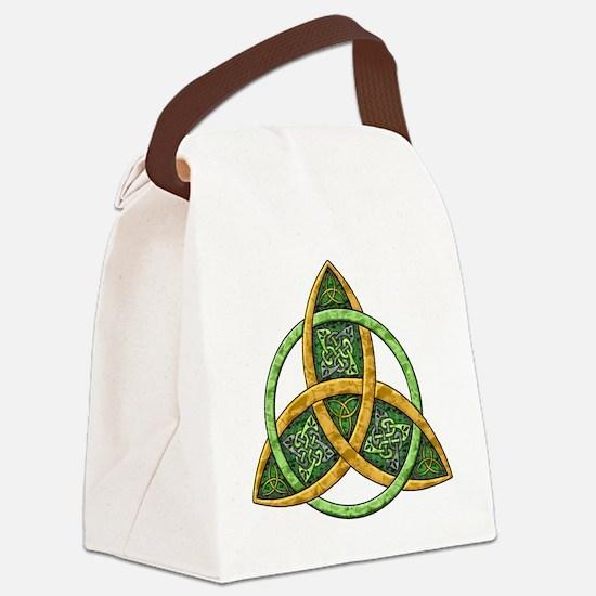 Celtic Trinity Knot Canvas Lunch Bag
