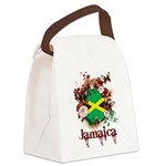 Butterfly Jamaica Canvas Lunch Bag