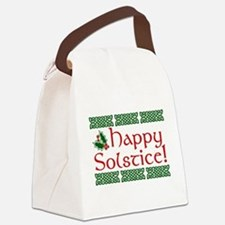 Happy Solstice Canvas Lunch Bag