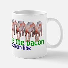 Bringing home the bacon Mug