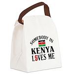Somebody In Kenya Canvas Lunch Bag
