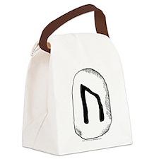 Viking Rune Uruz Canvas Lunch Bag