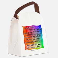 Spiritual Lousy Canvas Lunch Bag