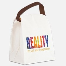 Reality Imagination Canvas Lunch Bag