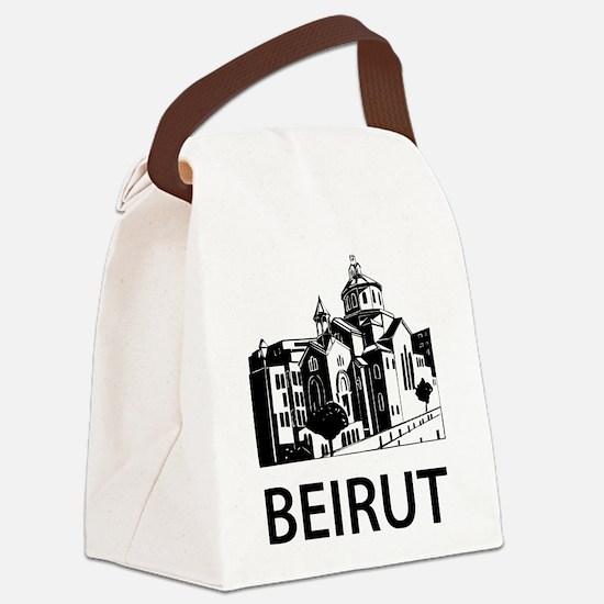 Beirut Canvas Lunch Bag