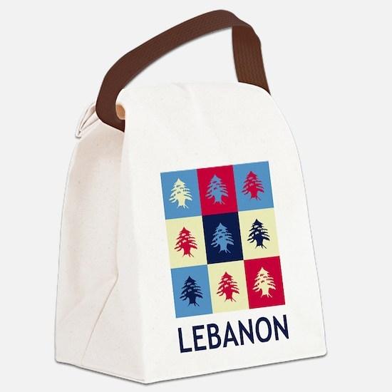 Pop Art Lebanon Canvas Lunch Bag
