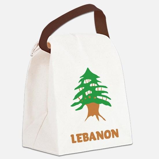 Lebanon Canvas Lunch Bag