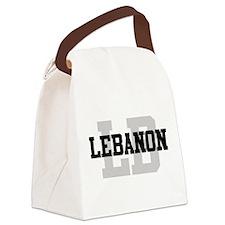 LB Lebanon Canvas Lunch Bag
