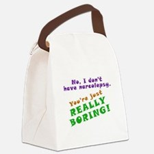Really Boring Canvas Lunch Bag
