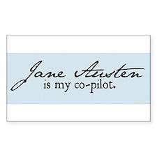 Jane Austen Decal