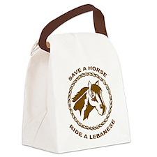 Ride A Lebanese Canvas Lunch Bag