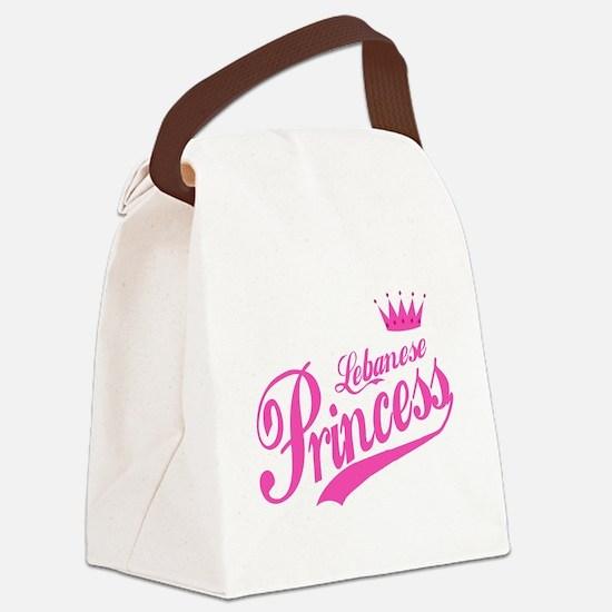 Lebanese Princess Canvas Lunch Bag