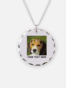 Dog Photo Personalized Necklace