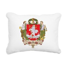 Vilnius Coat Of Arms Rectangular Canvas Pillow