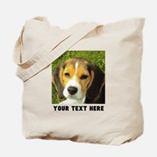 Dog Photo Personalized Tote Bag
