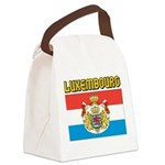 Luxembourg Flag Canvas Lunch Bag