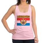 Luxembourg Flag Racerback Tank Top