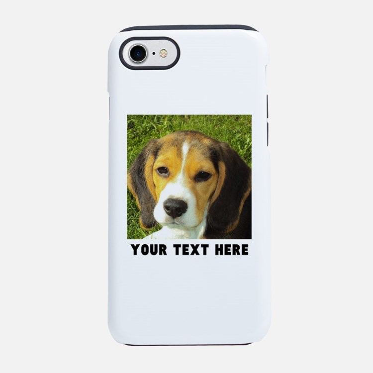 Dog Photo Personalized iPhone 7 Tough Case