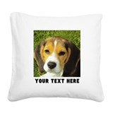 Pets Square Canvas Pillows