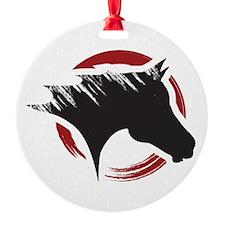 Crow Dog Farm Horse Ornament
