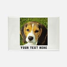 Dog Photo Personalized Rectangle Magnet
