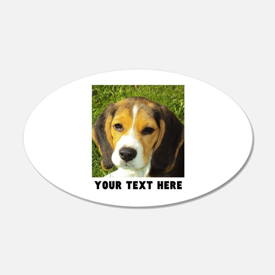 Dog Photo Personalized Decal Wall Sticker