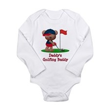 Daddys Golfing Buddy Long Sleeve Infant Bodysuit