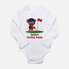 Daddys Golfing Buddy Long Sleeve Infant Bodysuit