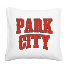 Park City Tackle And Twill.png Square Canvas Pillo