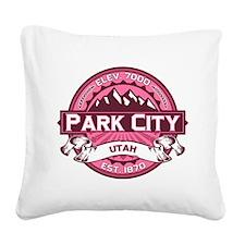Park City Honeysuckle Square Canvas Pillow