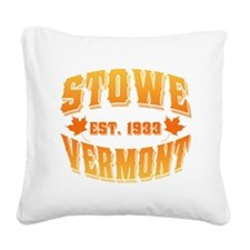 Stowe Old Style Autumn.png Square Canvas Pillow