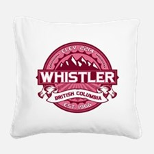 Whistler Honeysuckle Square Canvas Pillow