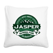 Jasper Forest Square Canvas Pillow