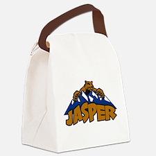 Jasper Bear Mountain.png Canvas Lunch Bag