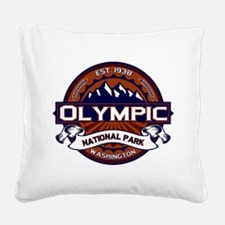 Olympic Vibrant Square Canvas Pillow
