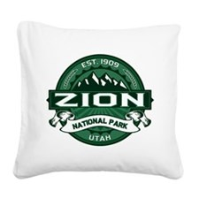 Zion Forest Square Canvas Pillow