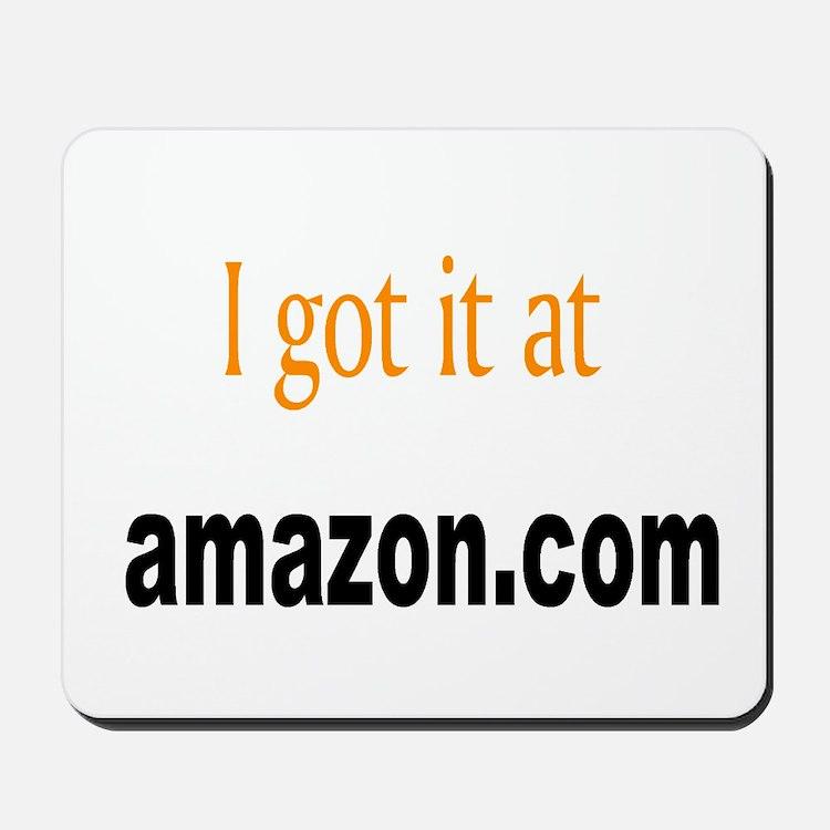 I got it at amazon.com Mousepad