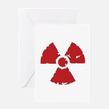 Nuclear Sign Greeting Card