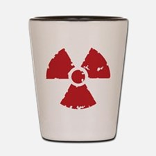 Nuclear Sign Shot Glass