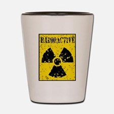 Radioactive Shot Glass