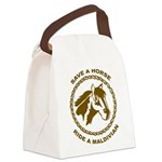 Ride A Maldivian Canvas Lunch Bag