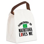 Somebody In Mauritania Canvas Lunch Bag