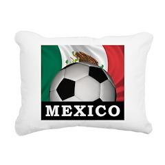 Mexico Football Rectangular Canvas Pillow